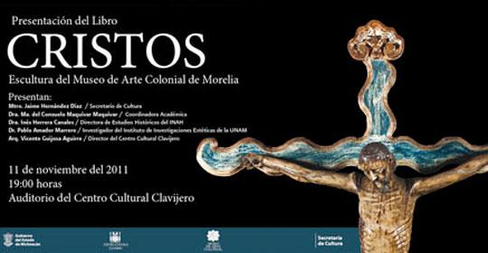 Presentarán en la capital del país, el libro en gran formato Cristos y Escultura